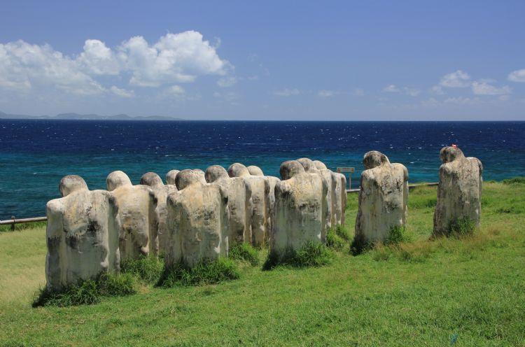 Mémorial de l'Anse Caffard en Martinique
