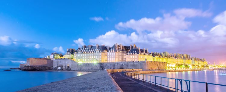 Saint-Malo le soir