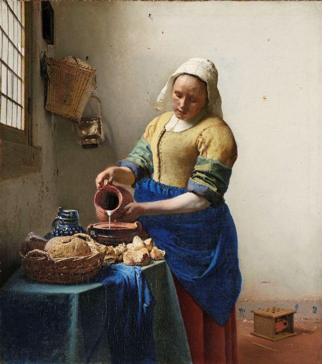 La laitière de Vermeer au Rijksmuseum