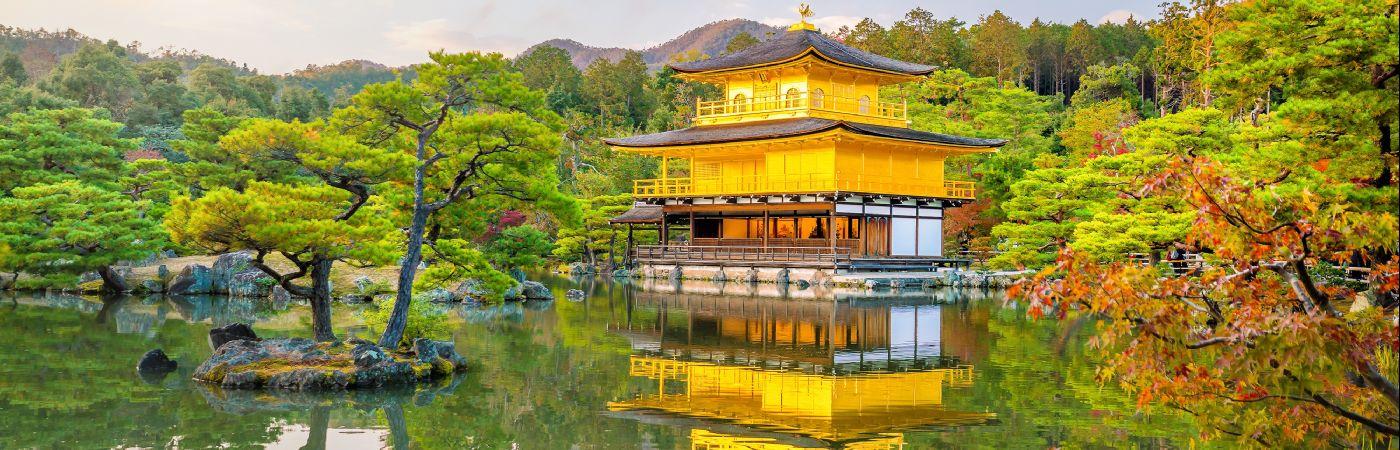 Temple Kinkaku-Ji à Kyoto