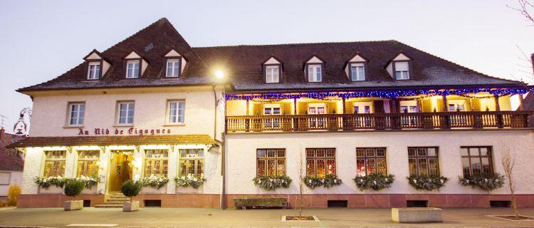 Hôtel Au Nid de Cigognes*** à Ostheim
